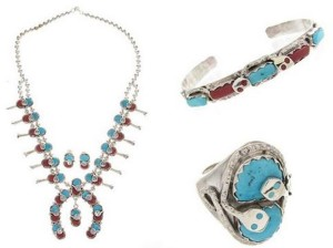 About Native American Zuni jewelry